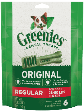 Greenies Mini Treat-Pak Regular 6oz