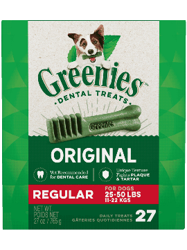 Greenies Treat Tub Pak Regular 27oz