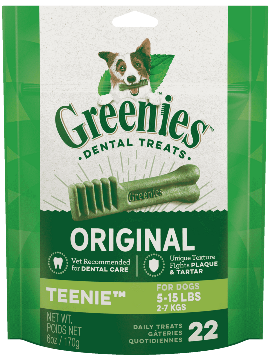 Greenies Mini Treat-Pak Teenie 6oz