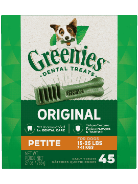 Greenies Treat Tub Pak Petite 27oz