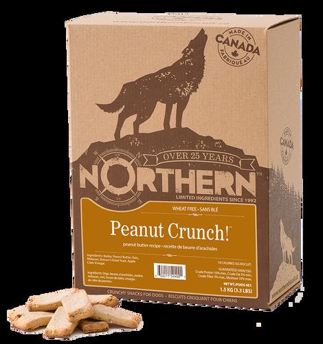 NORTHERN DOG BISCUIT - PEANUT CRUNCH 1.5KG
