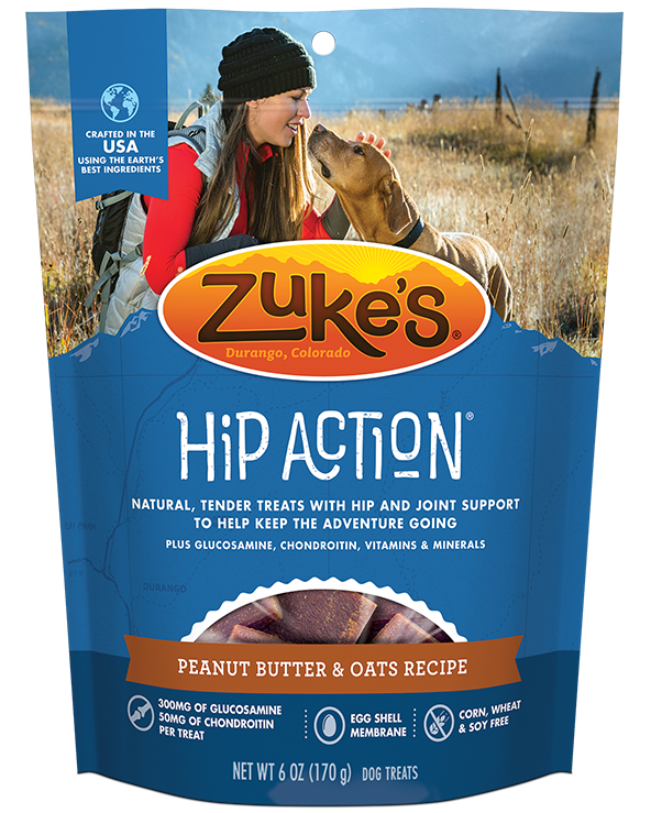 ZUKE'S HIP ACTION PEANUT BUTTER 6oz