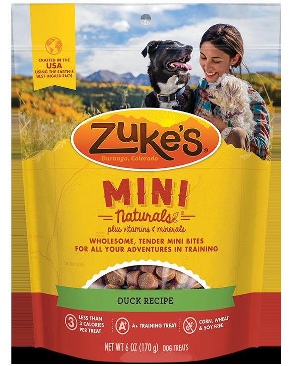 ZUKE'S MINI NATURALS DUCK 6 oz