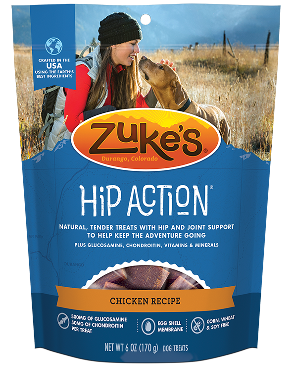 ZUKE'S HIP ACTION CHICKEN 16oz