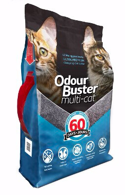 ODOUR BUSTER MULTI-CAT LITTER 12kg
