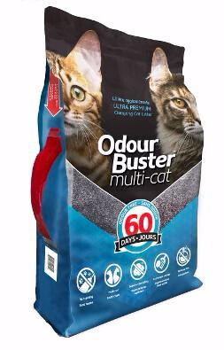 ODOUR BUSTER MULTI-CAT LITTER 12kg