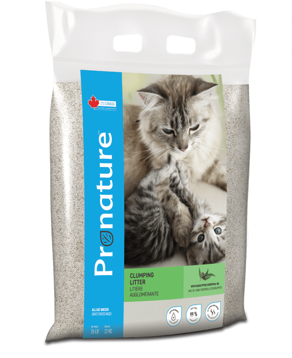 PRONATURE CLUMPING CAT LITTER 18kg