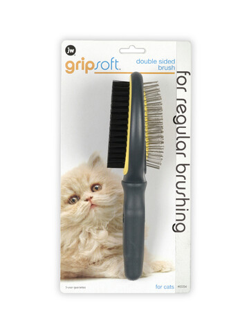 JW DOUBLE-SIDED BRUSH FOR CATS