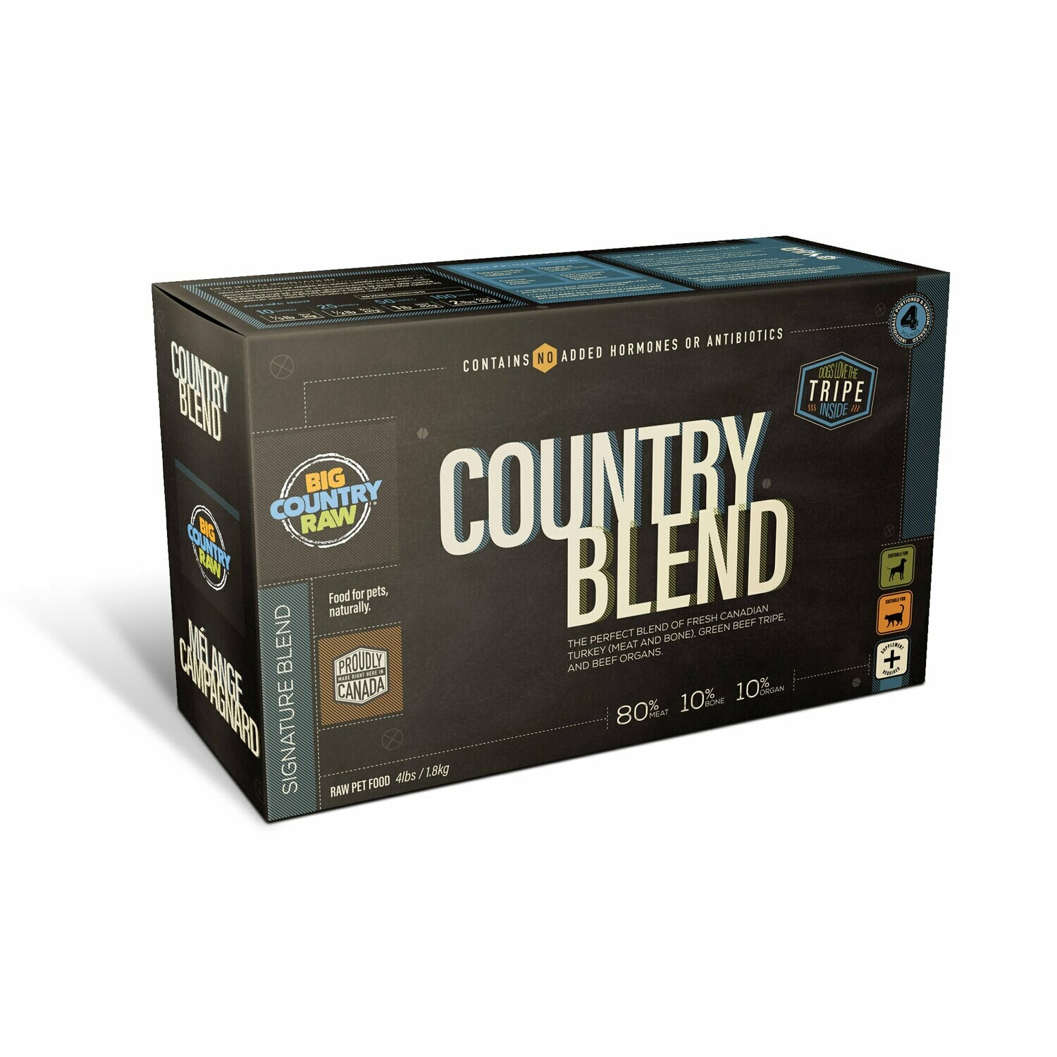 BCR COUNTRY BLEND CARTON 4LB