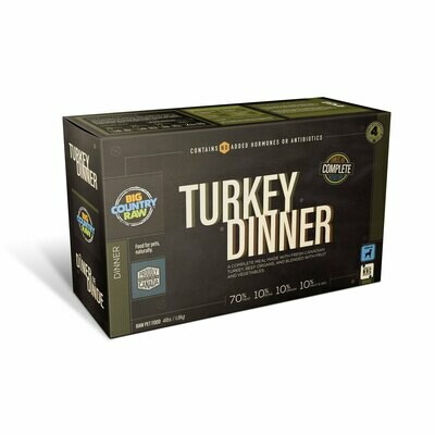 BCR TURKEY DINNER CARTON 4LB