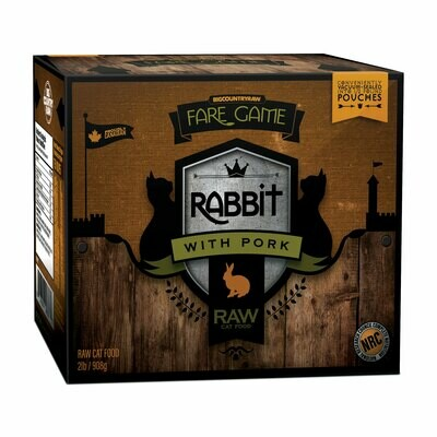 BCR FARE GAME RABBIT WITH PORK 2LB