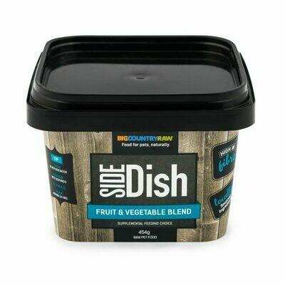 BCR SIDE DISH FRUIT & VEGETABLE BLEND 1LB