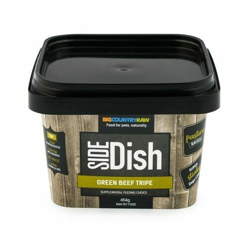 BCR SIDE DISH PURE BEEF TRIPE 1LB