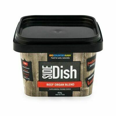 BCR SIDE DISH BEEF ORGAN BLEND 1LB