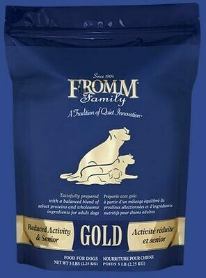 Fromm Gold Reduced Activity & Senior 15lb