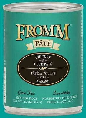Fromm Pate Chick & Duck 12.2oz