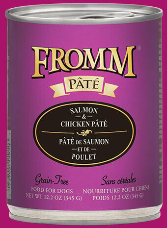 Fromm Pate Salmon & Chicken 12.2oz