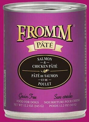 Fromm Pate Salmon & Chicken 12.2oz