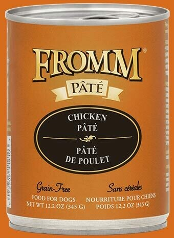 Fromm Pate Chicken Pate 12.2oz