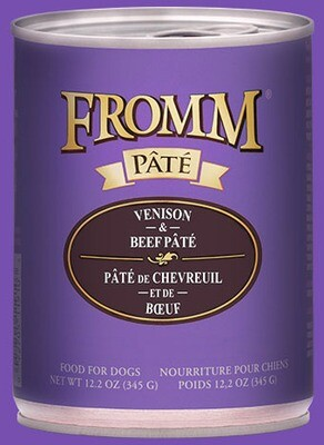 Fromm Pate Venison & Beef 12.2oz