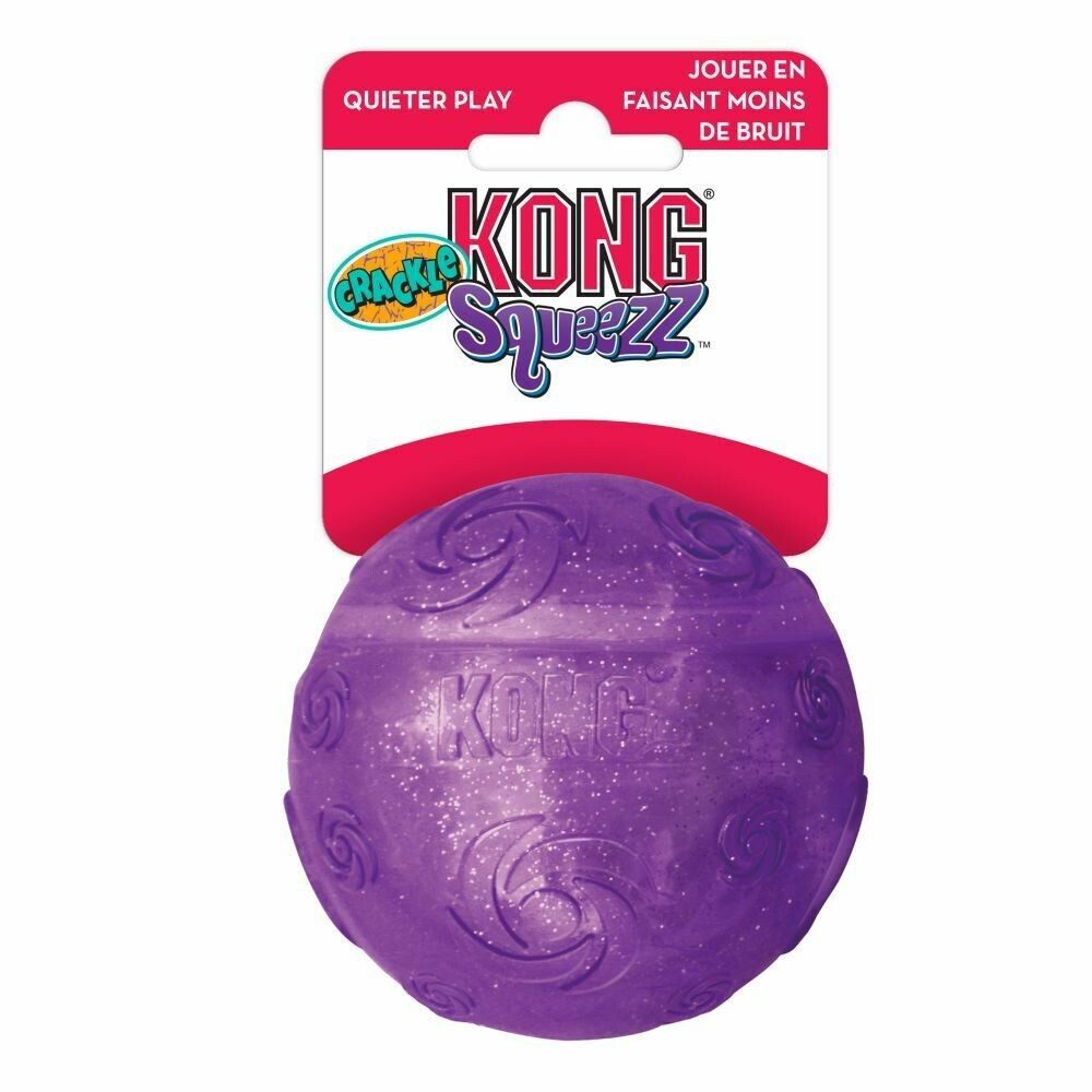 KONG SQUEEZZ - CRACKLE BALL XL