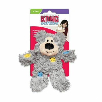 KONG CAT - SOFTIES PATCHWORK BEAR
