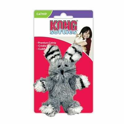 KONG CAT - SOFTIES FUZZY BUNNY