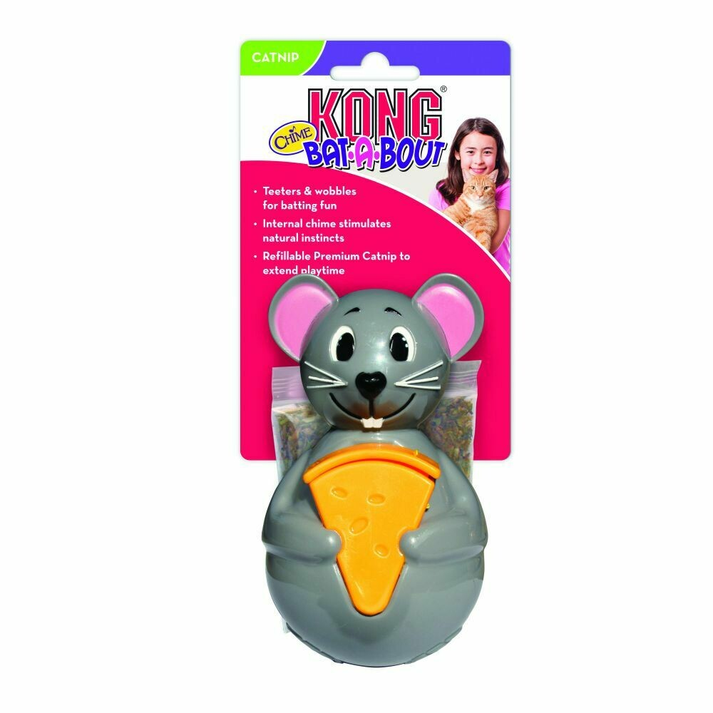 KONG CAT - BAT-A-BOUT CHIME MOUSE