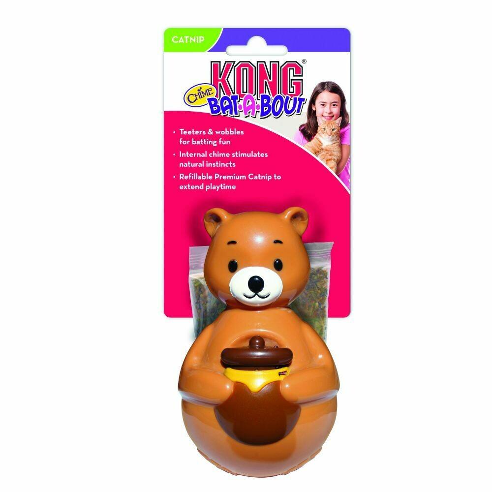 KONG CAT - BAT-A-BOUT CHIME BEAR