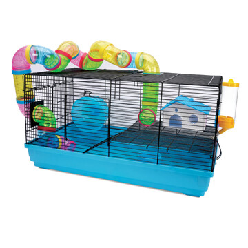 LIVING WORLD HAMSTER CAGE - PLAYHOUSE