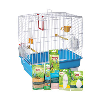 LIVING WORLD BUDGIE STARTER KIT