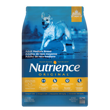 NUTRIENCE ORIGINAL ADULT MEDIUM BREED 11.5KG