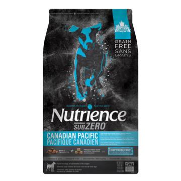 NUTRIENCE GRAIN FREE SUBZERO - CANADIAN PACIFIC 10KG