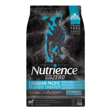 NUTRIENCE GRAIN FREE SUBZERO - CANADIAN PACIFIC 10KG