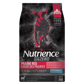 NUTRIENCE GRAIN FREE SUBZERO - PRAIRIE RED 10KG