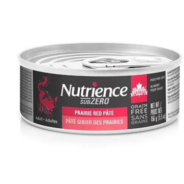 NUTRIENCE GRAIN FREE SUBZERO PATE - PRAIRIE RED 5.5OZ
