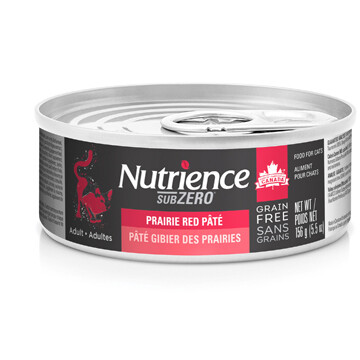 NUTRIENCE GRAIN FREE SUBZERO PATE - PRAIRIE RED 5.5OZ