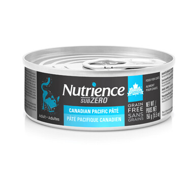 NUTRIENCE GRAIN FREE SUBZERO PATE - CANADIAN PACIFIC 5.5OZ
