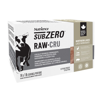 NUTRIENCE SUBZERO RAW - NORTHERN LAKES 14LB