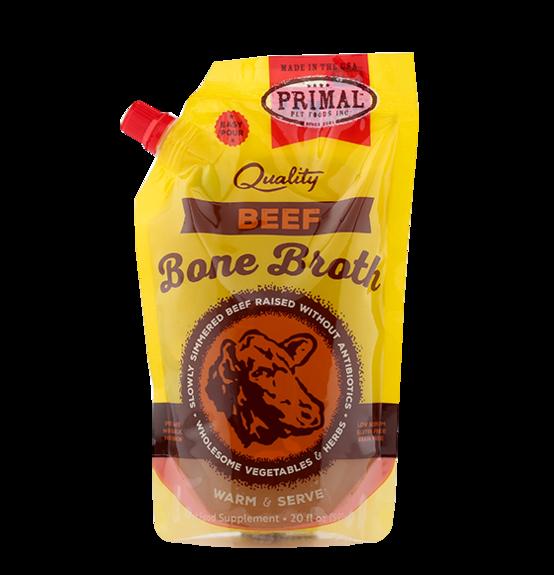 PRIMAL BEEF BONE BROTH 20OZ