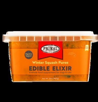 PRIMAL EDIBLE ELIXIR - WINTER SQUASH PUREE 32OZ