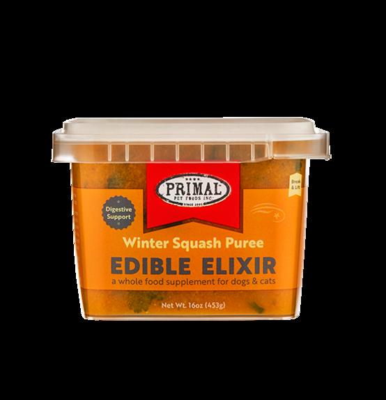 PRIMAL EDIBLE ELIXIR - WINTER SQUASH PUREE 16OZ