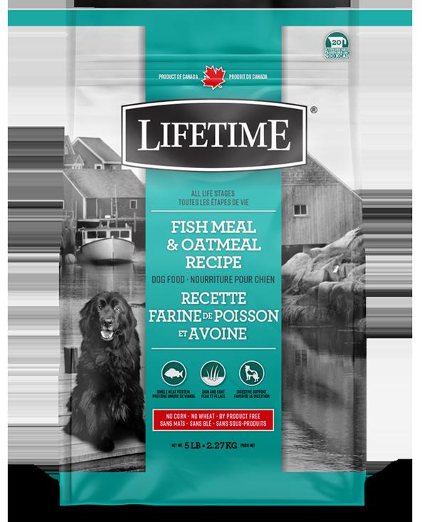 LIFETIME FISH & OATMEAL 11.4kg