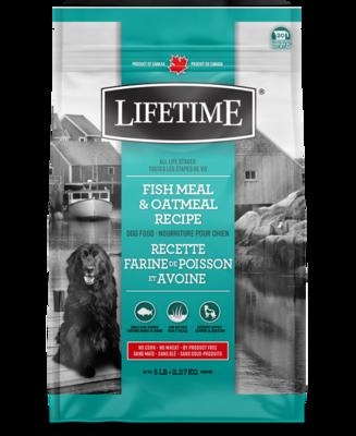 LIFETIME FISH & OATMEAL 2.5KG