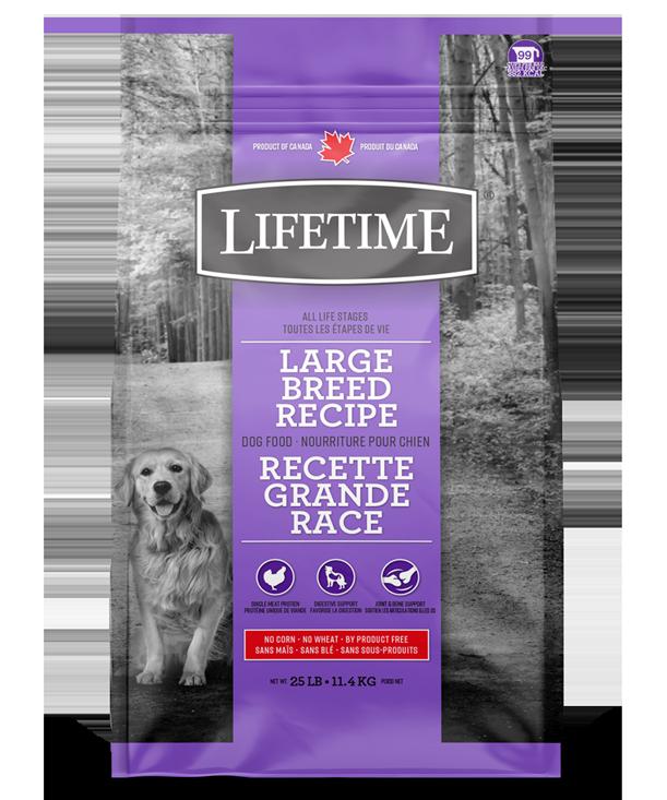 LIFETIME LARGE BREED 11.4KG