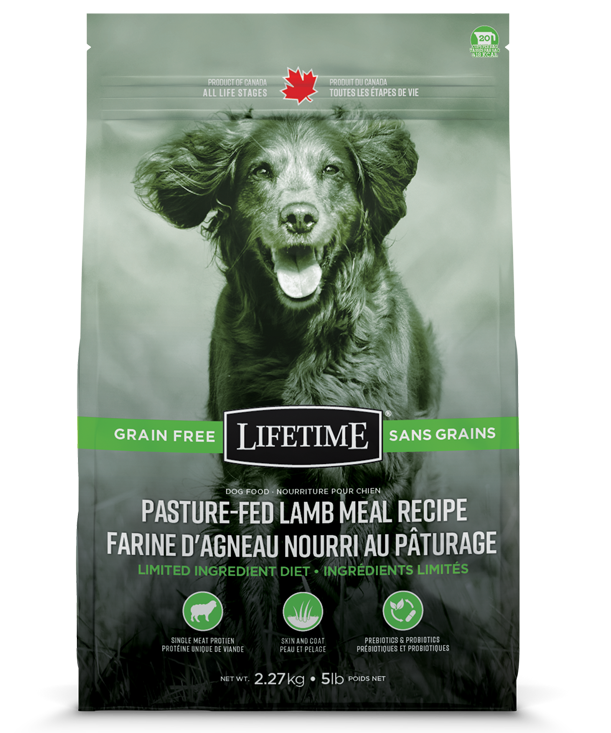 LIFETIME GRAIN-FREE LAMB 2.27KG