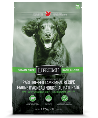 LIFETIME GRAIN-FREE LAMB 2.27KG