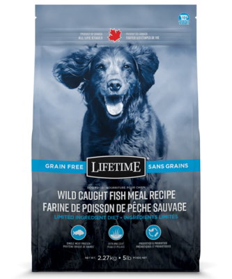 LIFETIME GRAIN-FREE FISH 2.27KG