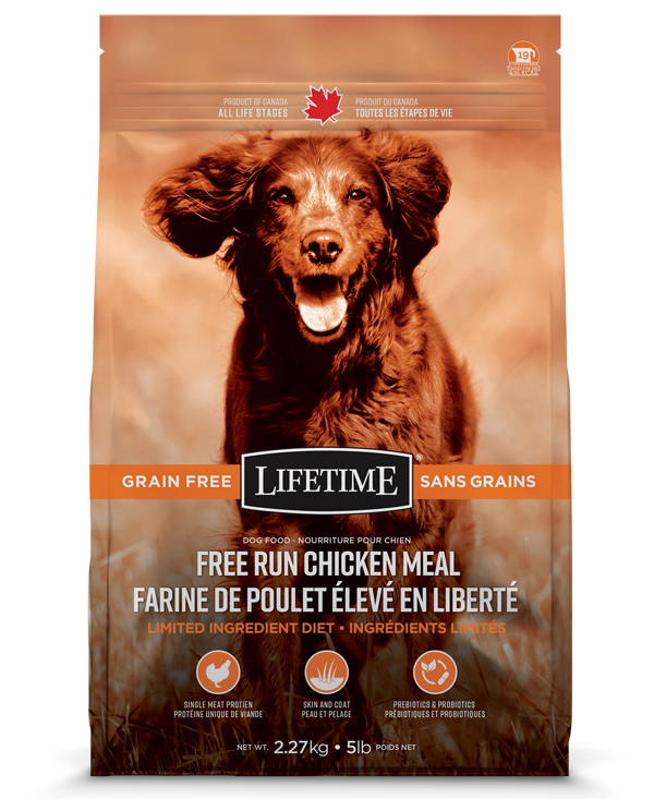 LIFETIME GRAIN-FREE CHICKEN 2.27KG