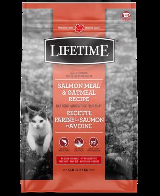 LIFETIME CAT SALMON & OATMEAL 2.27KG